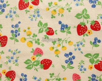 Candy berry  - Ivory colorful by Atsuko Matsuyama - Printed in Japan