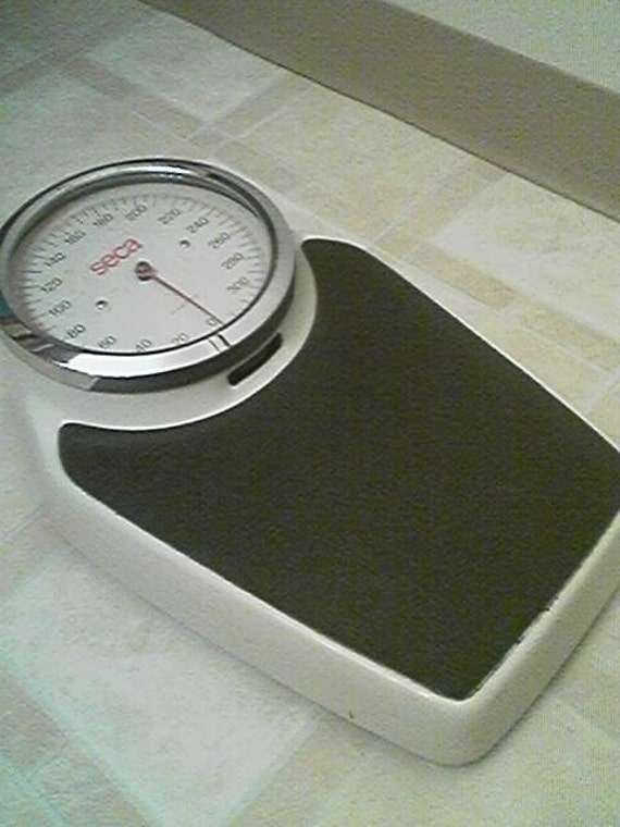 Large Heavy Vintage Seca Bathroom Floor Scale Made in Germany