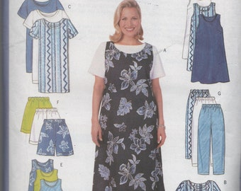 Ladies Wardrobe to sew by Butterick Fast and Easy Large Size
