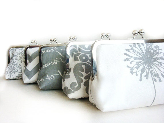A CUSTOM ORDER FOR ndensome43 - Party Bag Bridesmaid Purse - Bridesmaid Purse - Bridesmaid Gifts - Handbags - Bag- Clutches