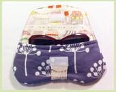 Simple Clutch/Glasses Case in Purple (Lotta Jansdotter)