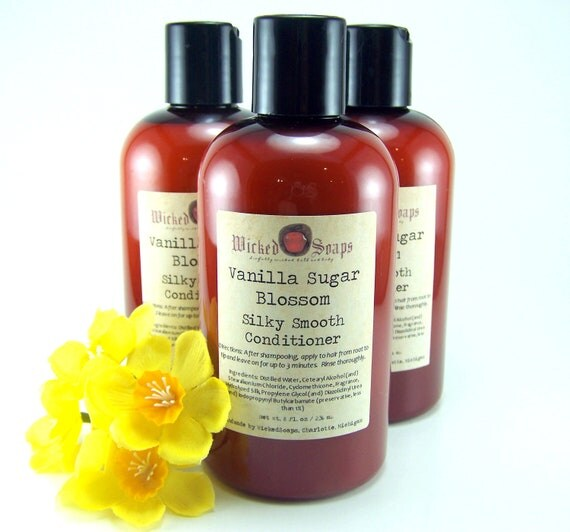 Vanilla Sugar Blossom Conditioner - Silky Smooth Hair Conditioner with Silk Amino Acids