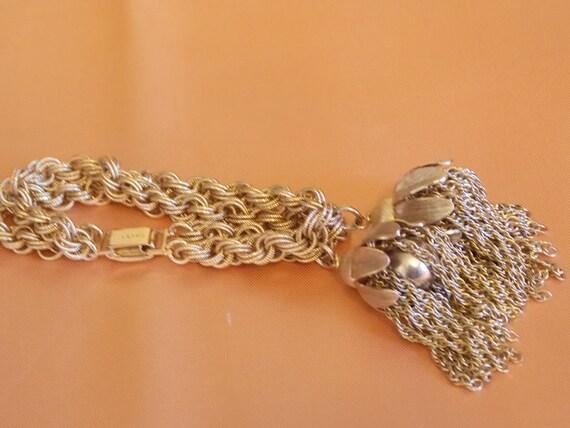 Vintage Napier Tassel Bracelet