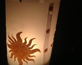 Set of 3 Floating Tangled Lanterns - Rapunzel Theme