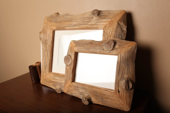 Reclaimed Farm Wood Artwork or Photo Frame Collection 8x10 and 5x7 frames