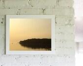 Beach Ocean Landscape Nautical Fall Season Art 11x14