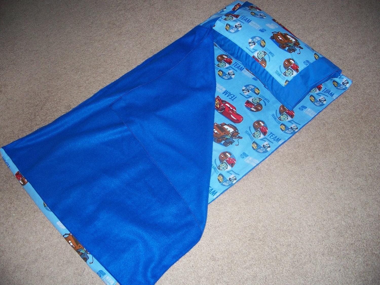 Car S Movie Kindergarten Nap Mat Cover Pillow And