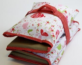 Pick a Print - Nap Mat Cover with Pillowcase, Handle and Strap - Kindermat Cover for School, Daycare, or Home Naptime Use