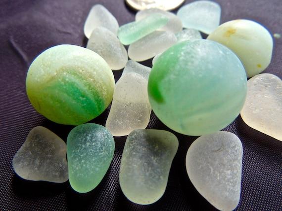 Beach Glass Or Sea Glass Of Hawaii Sea Glass Marbles Rare