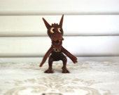 Reserved for Lynne - Vintage Texas Christian University Figurine