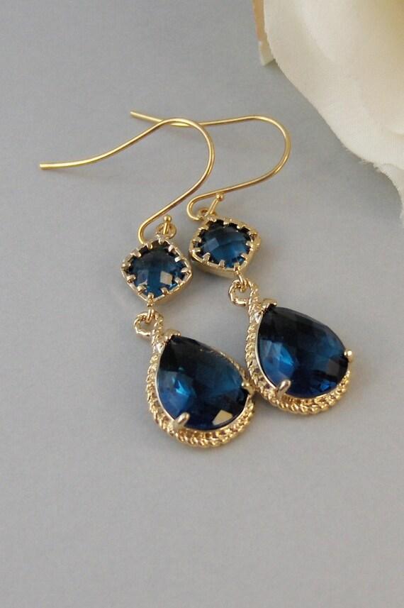 Something Blue Sapphire EarringsSapphire JewelrySapphire