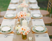 """Set of 10 Burlap Table Runner, 12' x 108"""" size, rustic, shabby chic, cottage, farmhouse chic"""