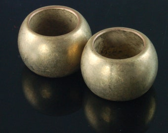 Scarf Jewelry Rings - Bronze Scarf Jewelry Ring Findings - Set of 2