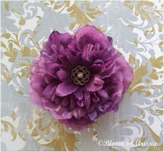 Simply chic  collection  purple bloom
