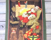Santa Linen Kitchen Towel