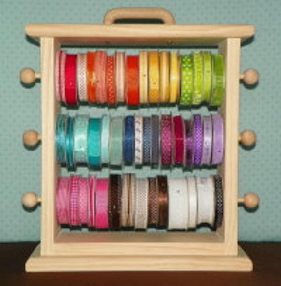 3  Original Ribbon Storage Rack  Scrapbookers and Crafters organize all your ribbon