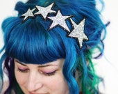 Woman's Hair Band Stars Headband, Glitter, Various Colours- Black FRiday Cyber Monday