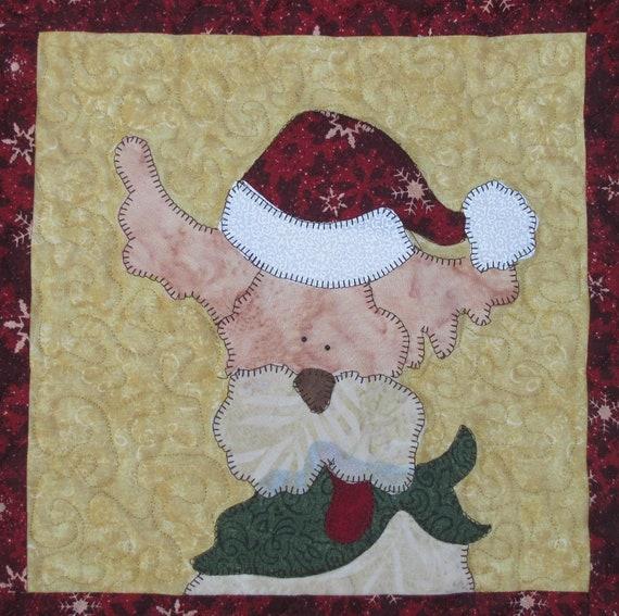 Wilson Santa PDF Quilt Pattern