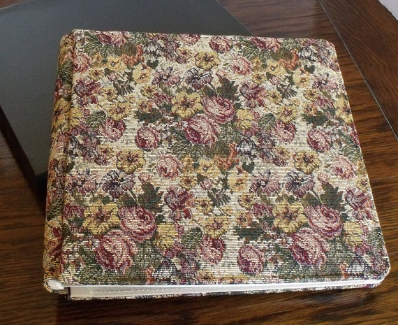 Creative Scrapbook Covers : Creative memories scrapbook photo album floral rose