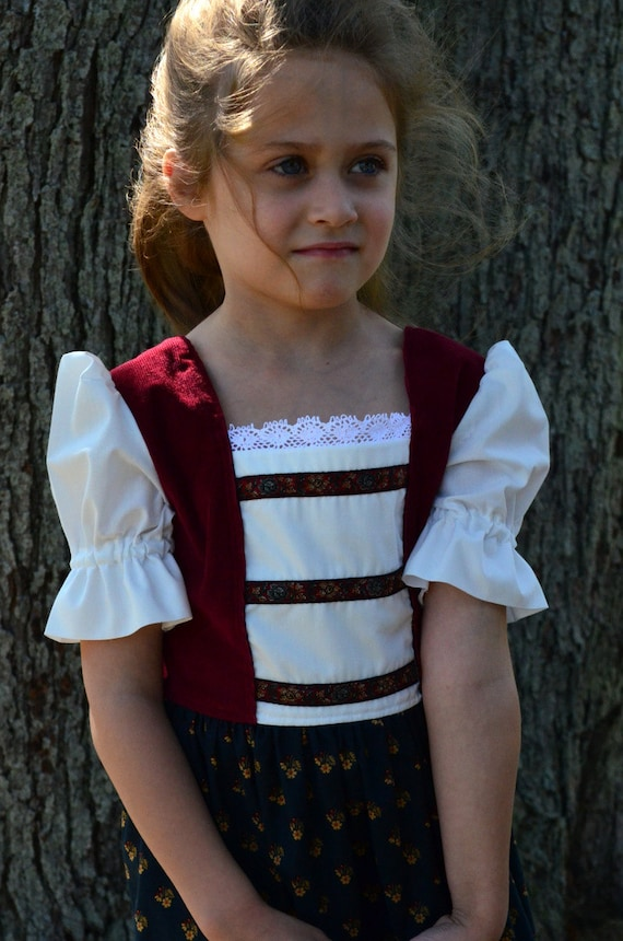 Dirndl -So Long, Farewell- Salzburg Festival- Size 5/6 -Ready to Ship SPECIAL SALE