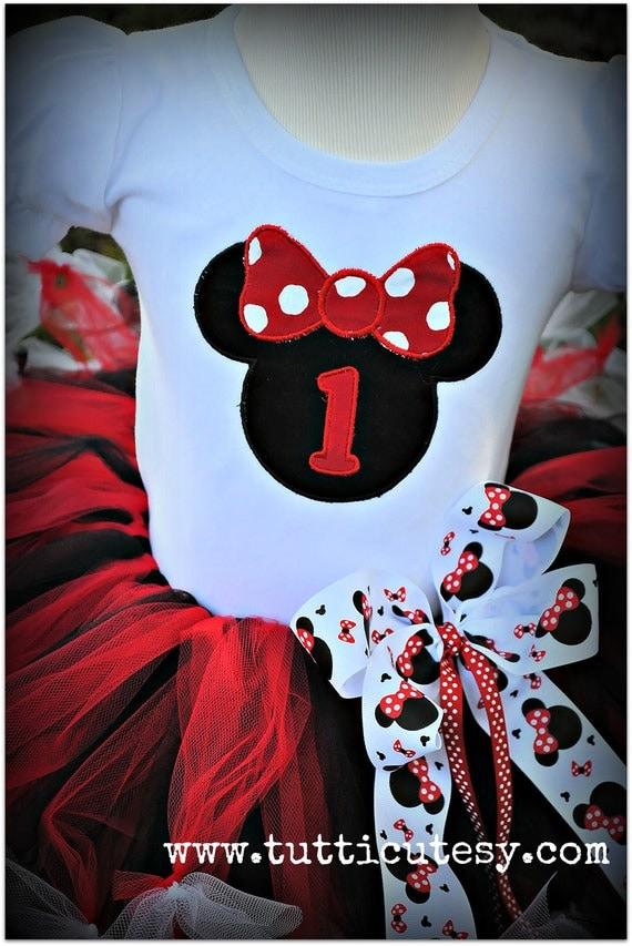Mouse Ears with Bow Birthday Shirt
