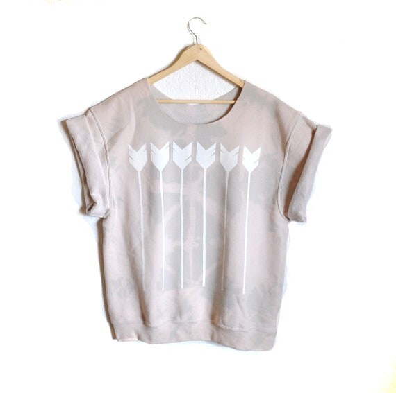 The Sweater Tee - Pastel Arrows - On Sale