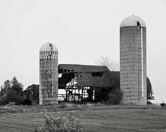 See Through Barn-8x10 Photo