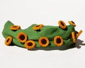 Sunflower Dress and Headband