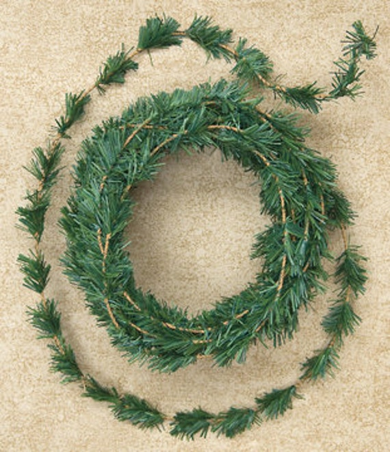 One 15' Mini Ming Rope Garland  Primitive Crafts Folkart Doll Making Wreaths Swags