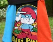 Eco Friendly Papa Smurf Skirt Girls 8/10