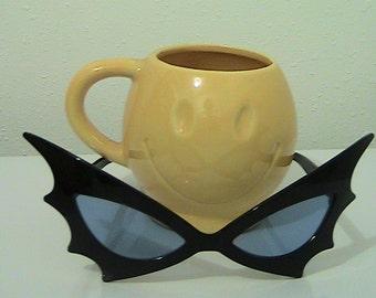 Vintage McCoy Smiley Face Cup/Mug - Yellow - 1970s