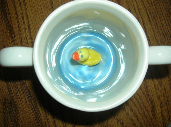 There's a Duck In My CUP-Toddler surprise mug