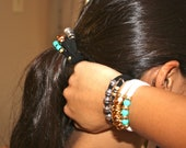 DOULETTE STYLISH BAND Bracelet or  Hair Rubberband in one