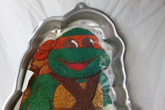 Teenage Mutant Ninja Turtle Cake Pan By Wilton 1989 By