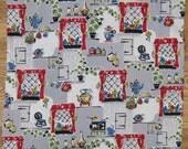 Vintage 50's Fabric - Kitchen Kitsch Cotton
