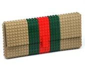 Tribute clutch made entirely of LEGO bricks