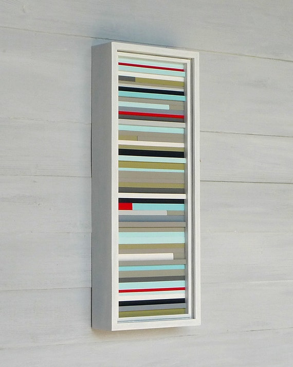 Reserved for Kellie, Wood Sculpture Art, 18 x 7, Multi-Colored