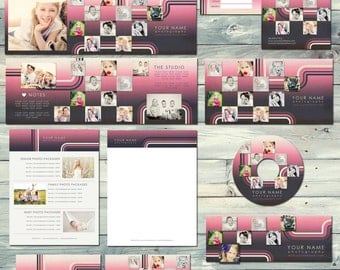 Boutique Marketing Package - Gradient Rose -  Photography