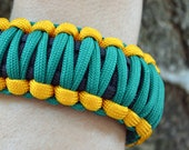 King Cobra Paracord Bracelet with Buckle Clasp
