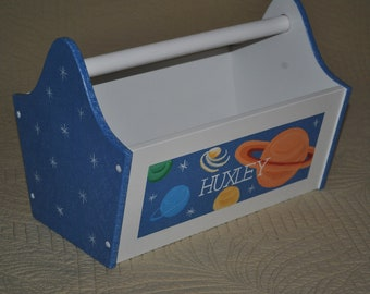 Book Caddy - Outer Space