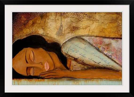 Figure art  Painting Print