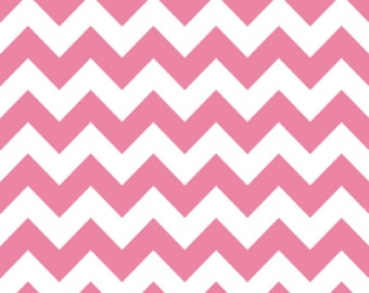 Medium Chevron in Pink by Riley Blake Fabrics, 1 Yard