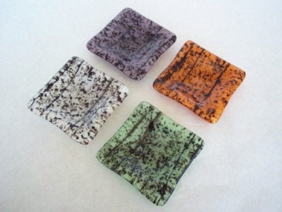 RESERVED FOR LYNN - Fused Glass Mini Dishes Special Order