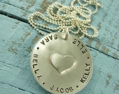 Personalized Name Necklace-Engraved Name Necklace-Custom Necklace