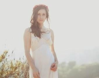 Bridal hair crown, fall wedding hair crown, fall wedding, hair crown, hair wreath, Wedding, Grecian goddess, head piece 'Autumn Song'
