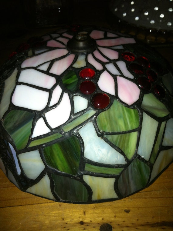Happily reserved for Cathy Vintage Stained Glass Globe