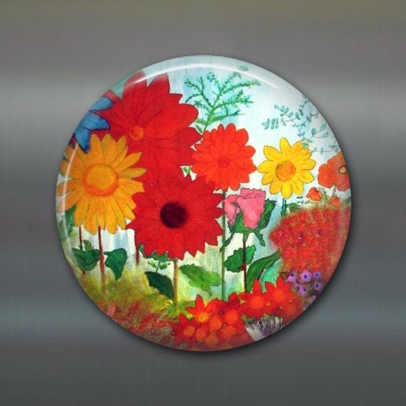 size magnet kitchen decor garden flower decor fridge