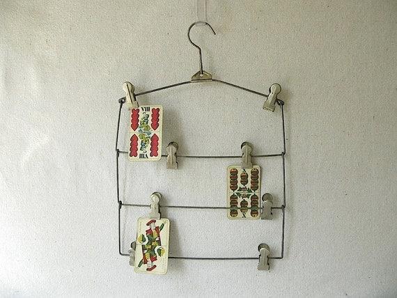 Vintage Metal Hanger Skirt
