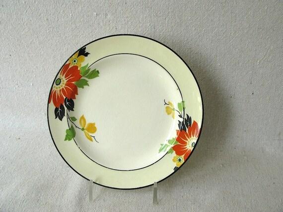 RESERVED Vintage Bread Plates Set Homer Laughlin