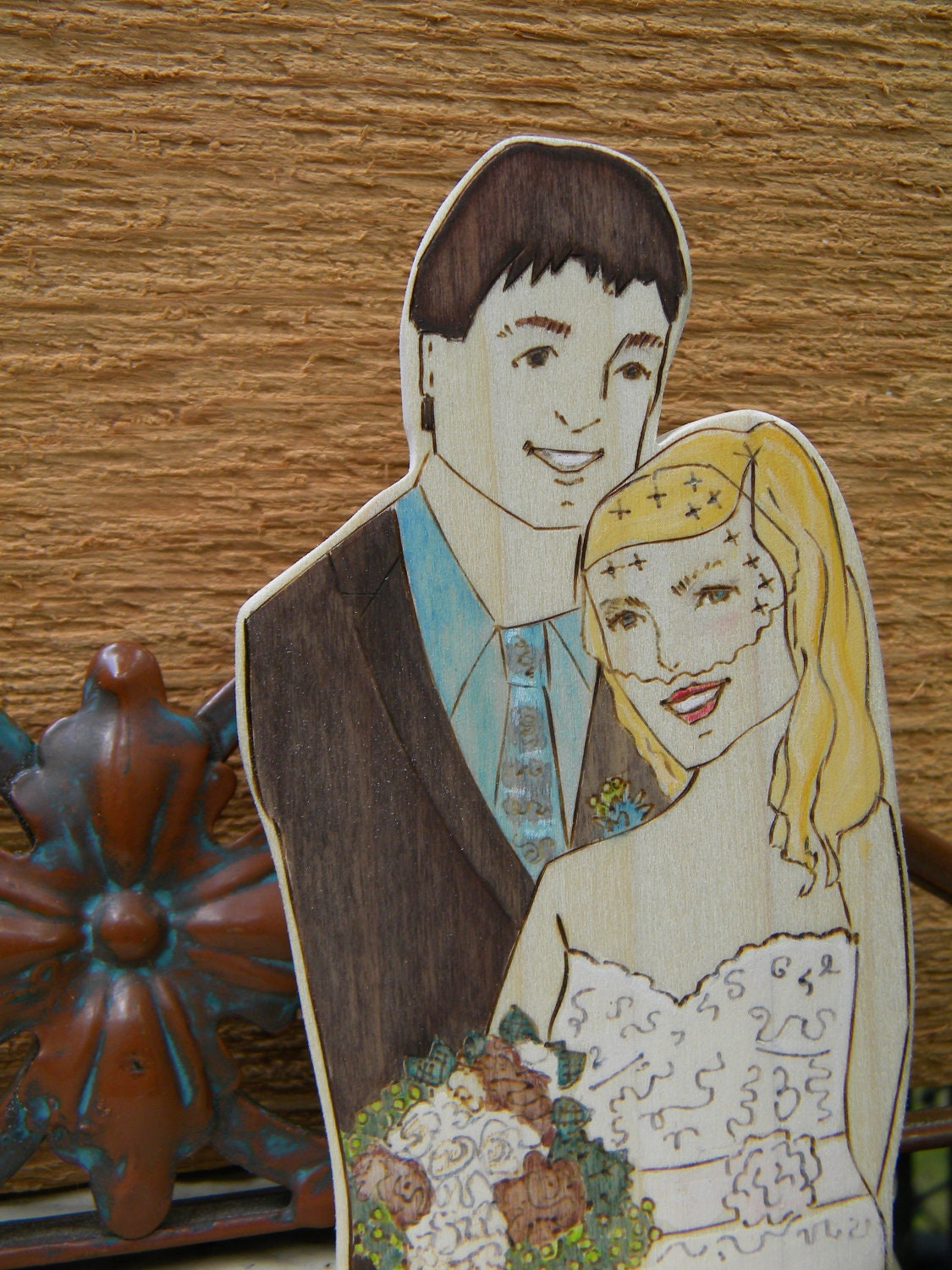 Nature Wedding Cake Toppers submited images